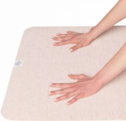 Salteaua yoga din cauciuc natural Domyos are un raport calitate/pret foarte bun