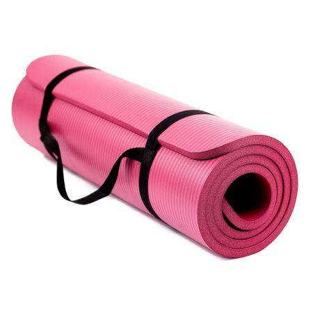 TECHFIT EXERCISE MAT este o saltea de gimnastica usoara, ieftina si simplu de transportat