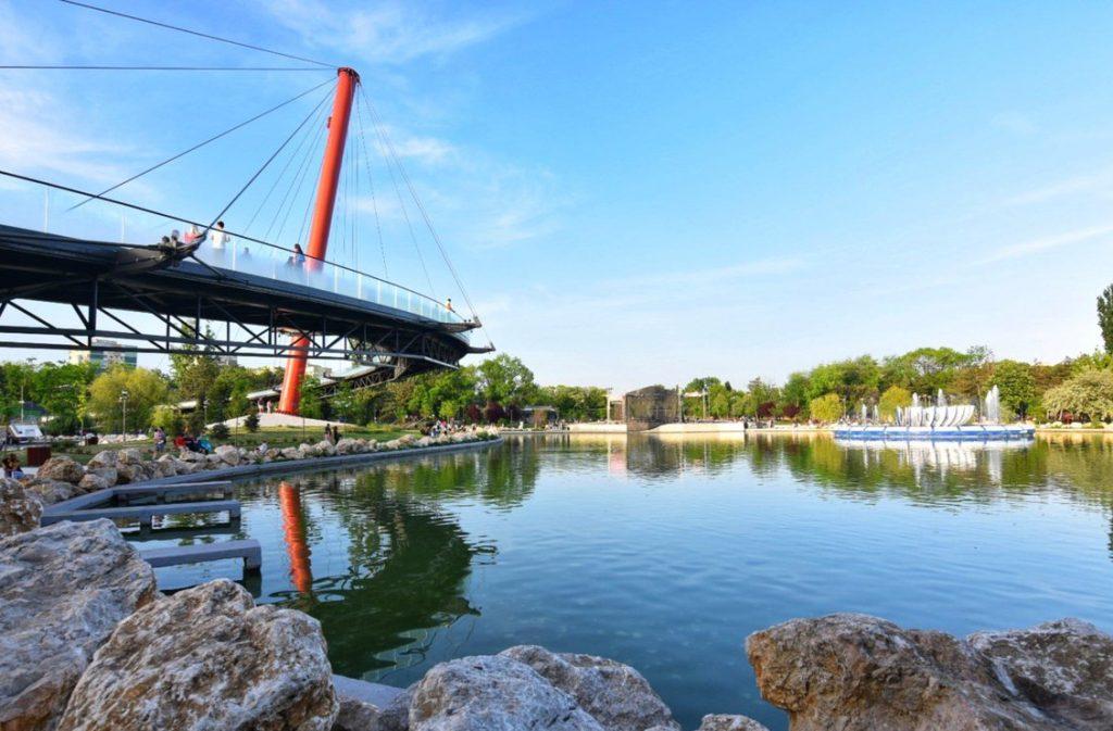 Mergi la jogging in Parcul Drumul Taberei din Bucuresti!