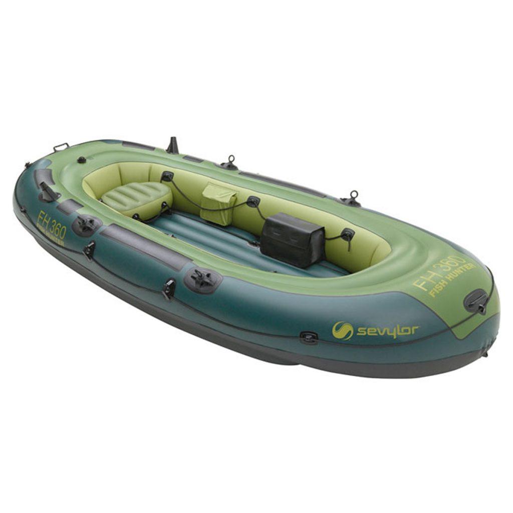 Barca pneumatica Sevylor Fish Hunter 360 are reducere de pret la Sportpartner
