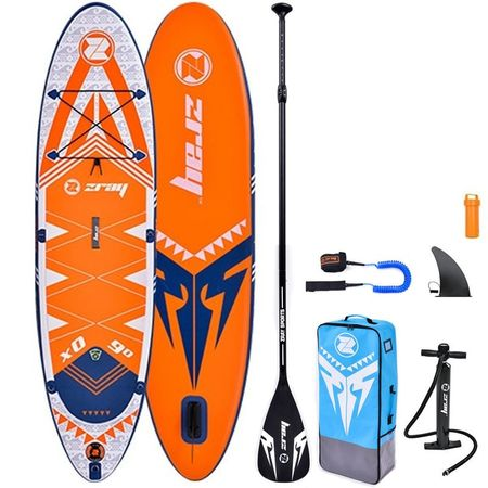 Set placa Stand Up Paddle board SUP Z-RAY X-Rider 9', 275x71x13 cm are un raport calitate/pret de nerefuzat!