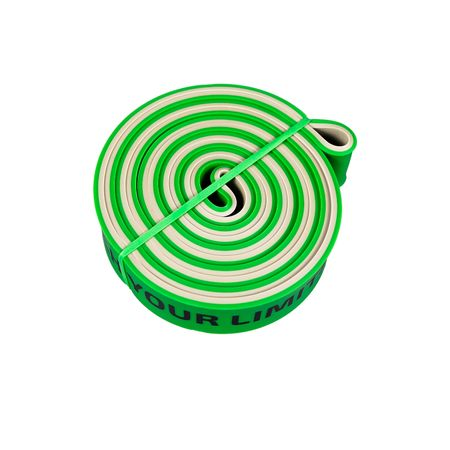 Banda elastica fitness NEZ Green are un raport calitate/pret excelent!