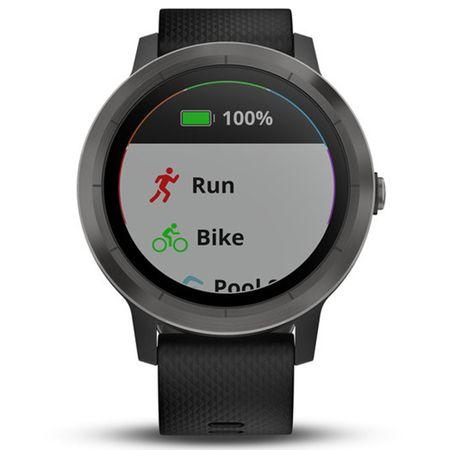 Un ceas smartwatch Garmin Vivoactive 3 face ca sportul sa fie mai interesant si mai placut, alaturi de prieteni