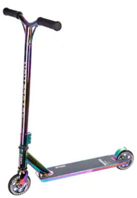 Trotineta Freestyle Raven Evolution Master Series Neo Chrome 110 mm poate fi gasita la Emag la reducere de pret