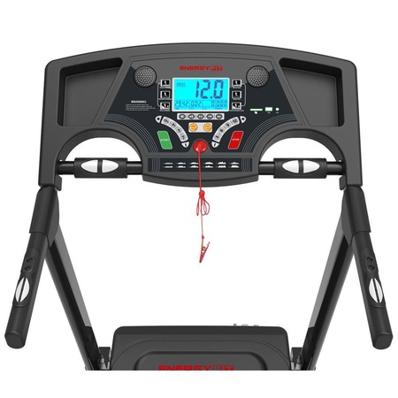 Banda de alergat Energy Fit MT10A are un pret excelent si multe functii utile, inclusiv inclinare automate si masurare a pulsului!