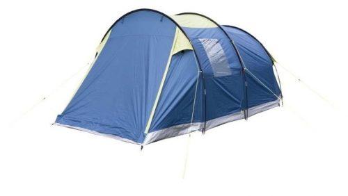 Pentru clientii fideli Emag recomand un cort pentru camping Trespass Caterthun, 4 persoane, dublu strat, Deep Teal/Citron care este fabricat din materiale rezistente la apa.