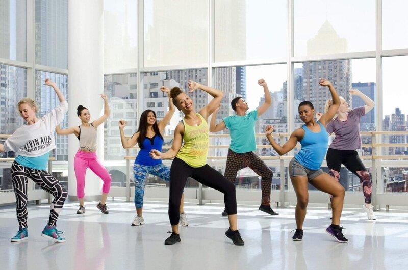 Dansând pentru pierderea în greutate video de zumba