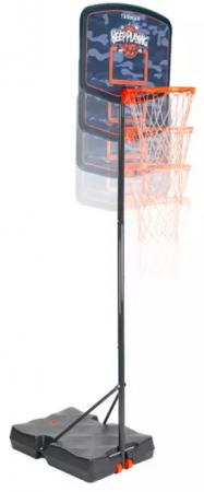 Atunci cand copiii cresc asa de repede este perfect sa ai in curte un cos de baschet precum B200 Easy de la Decathlon, reglabil pe inaltime intre 1,60 si 2,20 m.