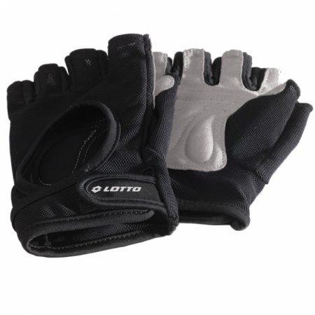 Poti merge la sala folosind niste manusi fitness Lotto Fitness XL cu care sa ai cea mai buna priza la aparate si sa iti protejezi palmele.