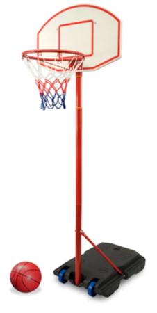 Un set cos baschet mobil Real Action Kings Sport poate fi alegerea ideala daca iti doresti sa muti panoul dintr-un loc in altul in curtea casei.
