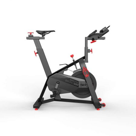 Bicicleta indoor cycling si biking 500 Domyos de la Decathlon te va ajuta sa te mentii in forma in fiecare zi, datorita caracteristicilor sale unice la pret excelent!