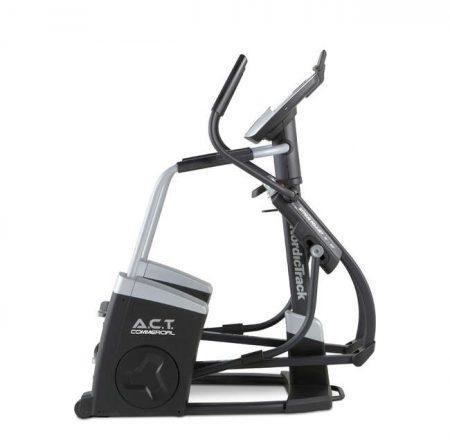 A.C.T. Commercial Nordictrack este o bicicleta eliptica cu pret foarte bun, cu roata de inertie de 10kg si 32 programe de antrenament, extrem de utile!