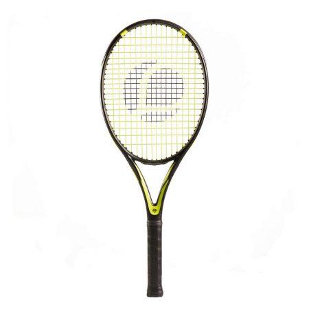 Racheta tenis TR160 Graph Negru adulti Artengo are un cadru fabricat din grafit si este 100% sigura, fiind testata sute de ore.