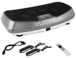 Aparatul fitness MEILAN poate fi comandat de la Emag si este foarte bun, datorita celor 2 motorare electrice puternice pentru vibratii 3D.