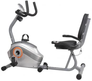 Bicicleta orizontala FitTronic 501R are un pret bun fata de alte biciclete fitness, putand fi folosita de persoane care au cel mult 110kg.