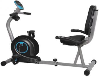 Bicicleta orizontala magnetica FitTronic 505R se monteaza usor si poate fi folosita inclusiv pentru recuperari medicale!