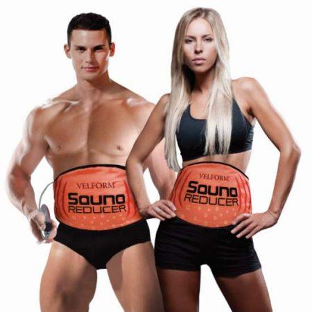 Sauna Reducer este o centura de slabit care va topi grasimea depe abdomen, functionand cu efect de sauna.