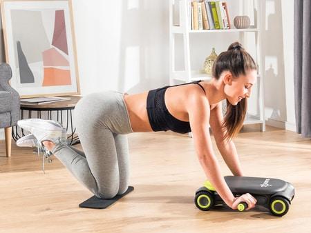 Aparatul de fitness Wonder Core Slide Fit Top Shop este dedicat antrenamentelor de acasa si poti lucra multe parti ale corpului, totul la un pret super bun!