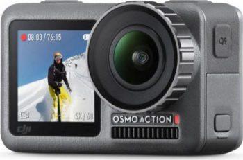 Camera video sport DJI Osmo Action are un pret redus, filmeaza 4K, rezista la -10 grade si la apa!