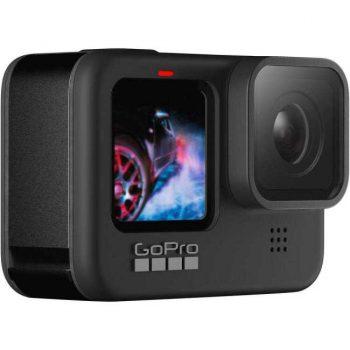 GoPro HERO9 este probabil cea mai buna camera video sport, cu filmare 5K, stabilizare super buna si baterie mare!