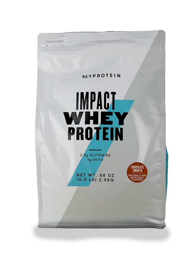 Concentrat Proteic de la Myprotein poate fi comandat online de pe Emag si se dizolva in apa sau lapte si au gust bun.