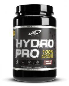Hydro Pro este 100% izolat proteic din zer hidrolizat enzimatic cu asimilare si digestie rapida si are pret bun!