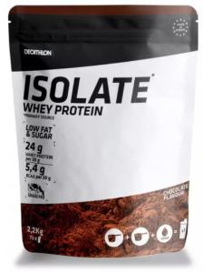 Izolat proteine ciocolata Whey 2,2kg Domyos reprezinta o alegere perfecta de proteine pentru masa musculara, pe care le poti achizitiona de la magazinul Decathlon.