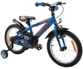 Bicicleta Omega Master pentru copii are roti de 16 inch si poate fi comandata de la Emag, fiind excelenta ca pret.
