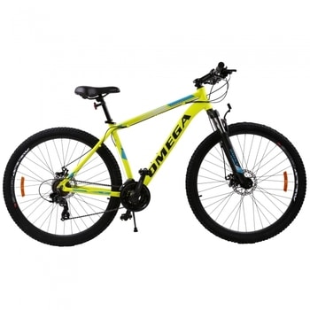 """Bicicleta Omega Thomas 29"""" este foarte cautata si poate fi folosita pe trasee montane, fiind MTB."""
