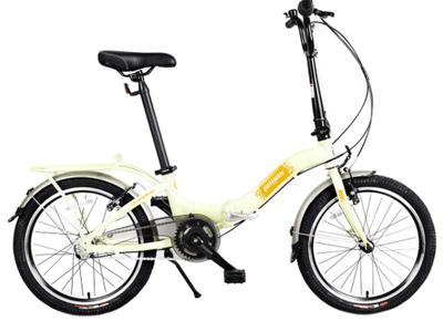Bicicleta Pegas Camping 3S este pliabila, ceea ce te ajuta mai ales daca stai la bloc