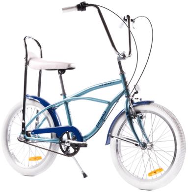 Culoarea mea preferate a bicicletei Strada Mini este Bleu Arctic, care are un pret super bun!