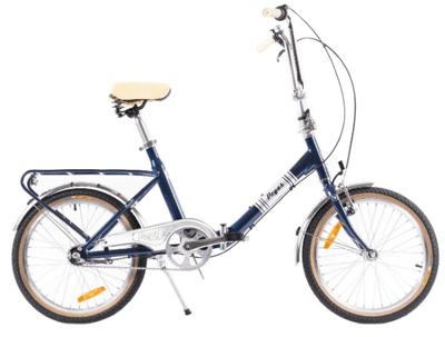 Practic Retro aluminiu dispune de frane v-brake si suporta cel mult 100kg, dar este probabil cea mai buna bicicleta Pegas din lista mea.