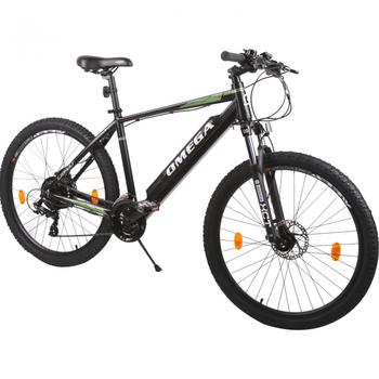 "Bicicleta Omega Liohult 27.5"" are un motor electric in partea din spate care te va propulsa sa ajungi oriunde iti doresti!"