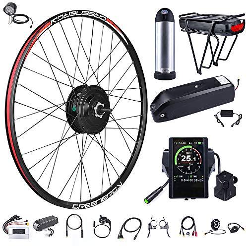 Un kit de conversie bicicleta electrica contine mai multe componente, printre care un motor, un controler extern, afisaj LCD si mai multi senzori importanti.