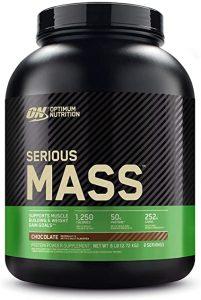 Serious Mass are 2,7kg si poate fi facut rapid cu 710ml de apa, cum aflam de pe site-ul Decathlon.