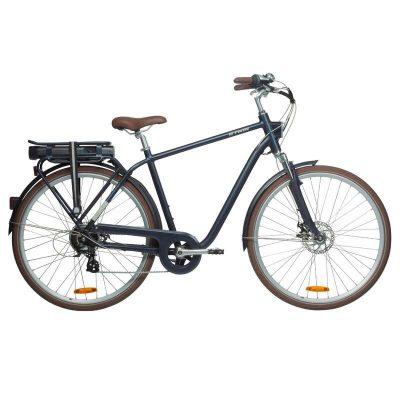 Cea mai buna bicicleta electrica de la Decathlon este Elops 900E, avand motor in spate, portbagaj si baterie cu autonomie uriasa!