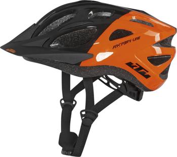 Casca bicicleta copii KTM Factory Youth vine de la un brand de renume si poate fi reglata perfect pe capul micutului.