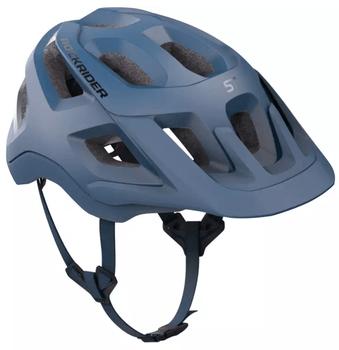 Casca pentru bicicleta MTB ST 500 din Decathlon are proprietatea de a ventila zona capului, sa nu iti fie foarte cald cand pedalezi.