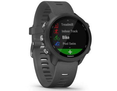 Un ceas cardio GPS Forerunner 245 gri Garmin trebuie achizitonat neaparat indiferent de sportul practicat in acest an! Ne va mentine in siguranta pe traseu si ne va spune ce distanta am parcurs si cu ce viteza.