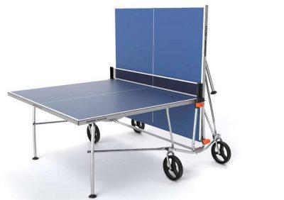 La Decathlon am gasit produsul perfect pentru sporturile de vara: masa tenis de masa PPT500 Exterior albastru Pongori, care poate fi folosita atat in curte, cat si in interior, de exemplu in garajul casei.