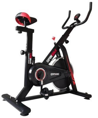 O bicicleta spinning interesanta de la Kondition este Dynamic, care are volanta de 6kg, un design foarte frumos si pret excelent la Emag.