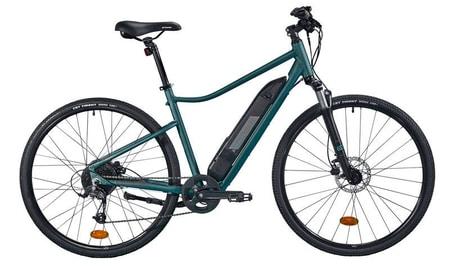 Probabil cea mai buna bicicleta polivalenta electrica Riverside este 500 E verde, avand franare eficienta si cauciucuri anti-pana, ca sa nu ramai in drum!