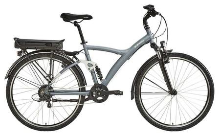 920 E este o bicicleta electrica formidabila, cu schimbator de viteze cu 7 trepte, suspensii fata si spate, materialul folosit pentru constructia ei fiind aluminiul.