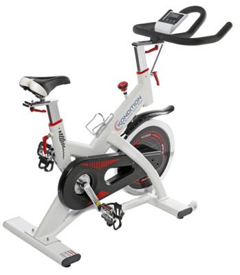 Imi place foarte mult bicicleta spinning Kondition BSP-9900 ULTRA, deoarece cantareste doar 46,5kg si vine cu calculator care masoara multe informatii utile, precum viteza, durata antrenamentului si caloriile consumate!