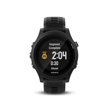 Ceas GPS cu senzor cardio la incheietura Forerunner 935 Garmin iese in evidenta prin designul simplu si calitativ, cu bratara confortabila si cu pretul mic la Emag si Decathlon!