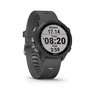 Forerunner 245 este un ceas Garmin pentru barbati cu pret excelent, ce rezista sub apa pana la 5 atm si masoara o multime de parametrii!