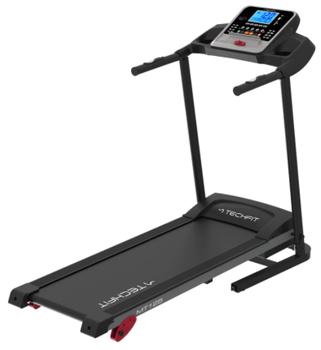 O banda de alergare TECHFIT foarte buna este MT125, care are multe programe de antrenament si display pe care apar valorile masurate.