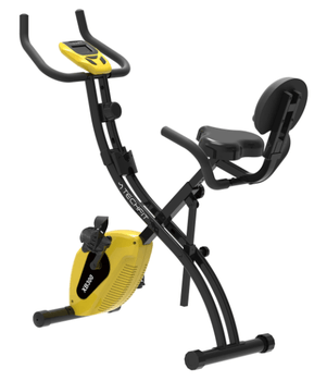 Bicicleta fitness pliabila TECHFIT XB300 are un raport calitate/pret imbatabil la Emag, iar dimensiunile sale 98 x 52 x 116 cm o fac usor de depozitat prin casa.