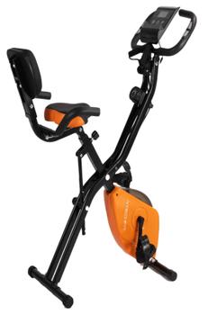 Am citit pareri bune despre aceasta bicicleta TECHFIT XB300N, fiind excelenta pentru utilizatorii de nivel mediu, avand in pachet inclus in pret si corzi de antrenament pentru membrele superioare!