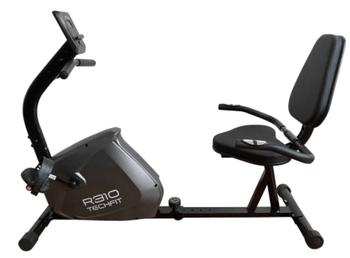 Bicicleta orizontala TECHFIT R310 este ieftina si buna, avand volanta de 4,5kg, multe niveluri de rezistenta si display LCD.